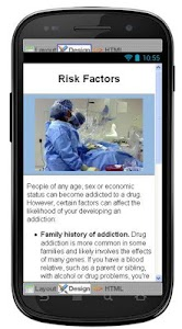 Drug Addiction Information screenshot 4
