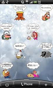 Daily Cartoon002 LWP & Clock screenshot 6
