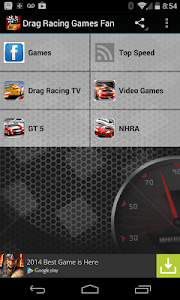 Drag Racing Games Fan screenshot 0