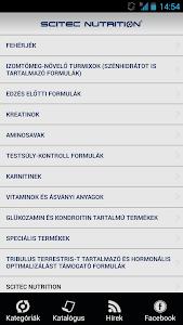 Scitec Nutrition screenshot 1