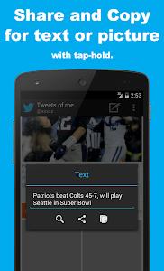 SocialLine for Twitter screenshot 2