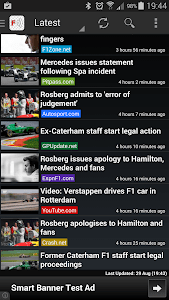 Freader1 - Formula Racing News screenshot 1