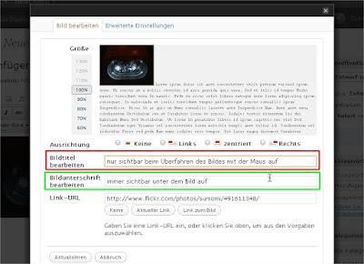 Screenshot WordPress Bild bearbeiten-Dialog (Klicke zum Vergrößern)