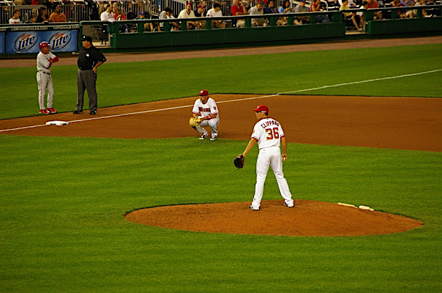 Tyler Clippard at the Mound