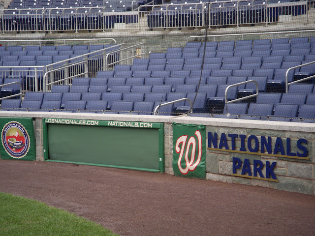 View from the visitors dugout