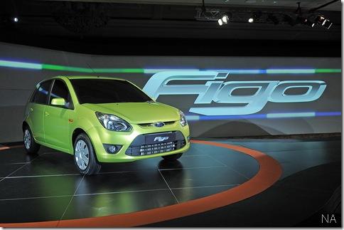 Reveal of the New Ford Figo in Delhi India