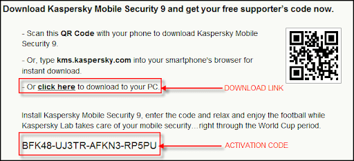 Kaspersky Mobile Security 70 Activation Code