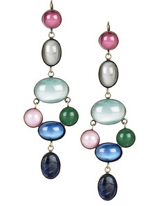 Family Stone drop earrings by Isabel Marant at Net A Porter