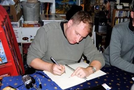 Ethan VanSciver zeichnet im T3