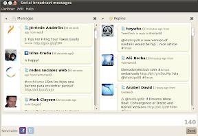 gwibber screenshot ubuntu 10.04 beta 1