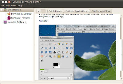 ubuntu software center 10.04 beta 1