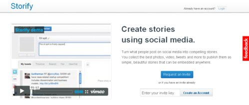 Storify, otras formas de contar historias