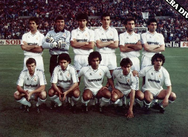 Resultado de imagen de el real madrid de 1987