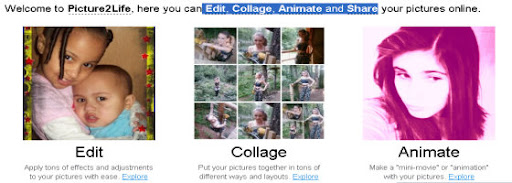 Picture2Life :  Edit, Collage, Animate and Share