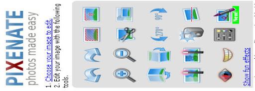 Pixenate Online image editor