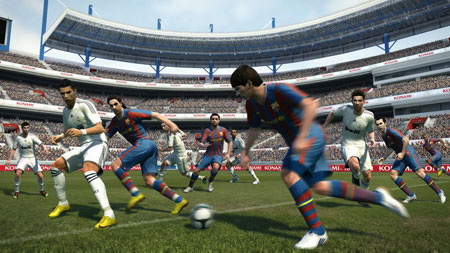 Konami Game Pro Evolution Soccer 2011 (PES 2011) Video &  Screenshoot