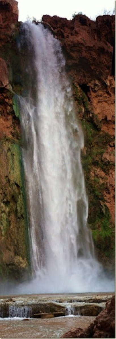 09 Mooney Falls Havasupai Indian Reservation AZ pano (275x800)