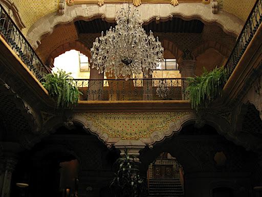 Interior del hotel La Casa de la Marquesa
