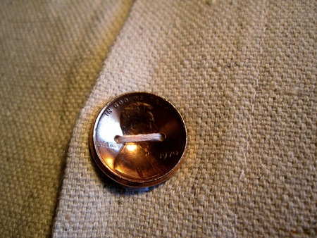 penny button