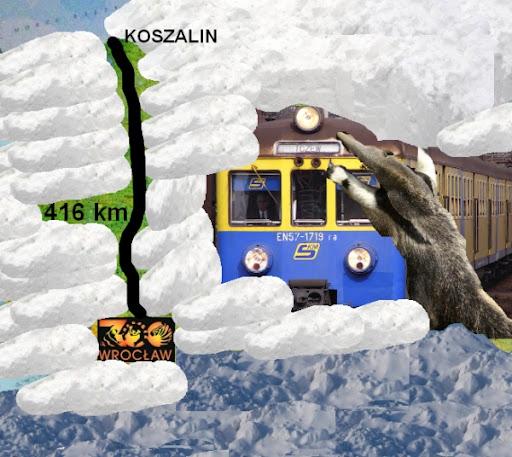 Jak przedzieraliśmy się do Wrocławia..