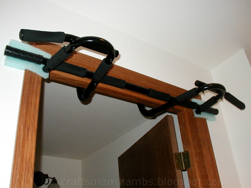 Craftsman Hambs Doorway Chin Up Bar Modification