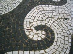 Mosaico paredes e pisos