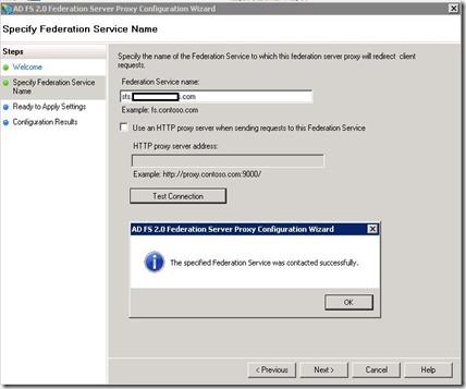 adfs - proxy - wiz - test conn - markup