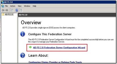 ADFS - management - wizard start - markup