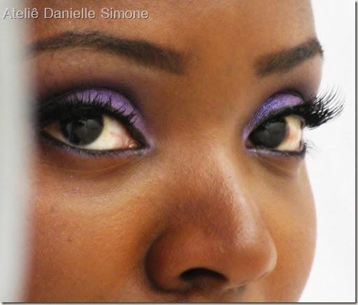Make-up, Roxo, Sombra Fluor , Kolloss