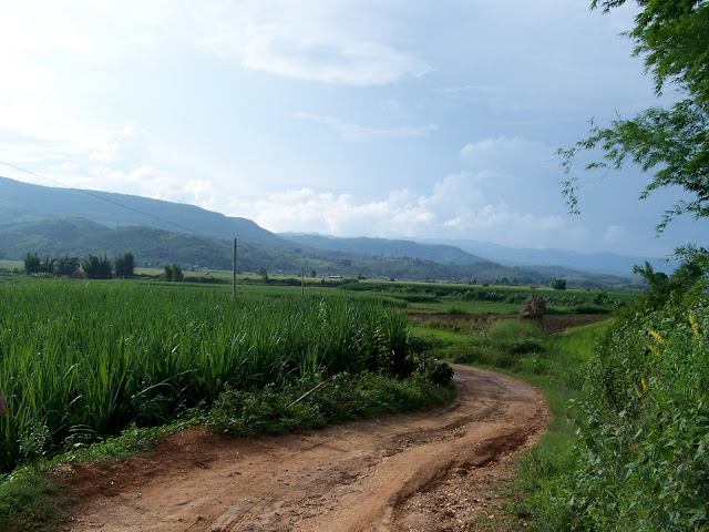 Looking back from Mangdongqidui