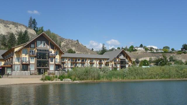 Ons hotel in Summerland aan het Okanagan Lake