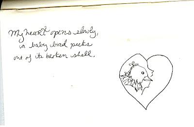 Birdheart. By Meghan Oona Clifford | www.RealeyesGallery.com
