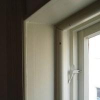 Innanfönster med speciallösning