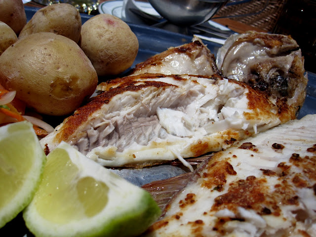 Fresh fish in Lanzarote