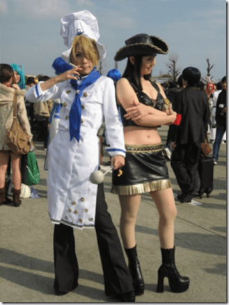 unknown cosplay 042 - one piece cosplay - sanji and nico robin