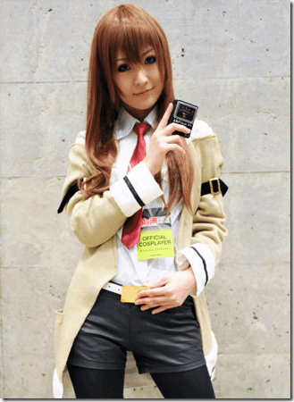 steins;gate cosplay - makise kurisu