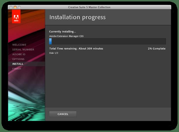 Installing in Progress 2