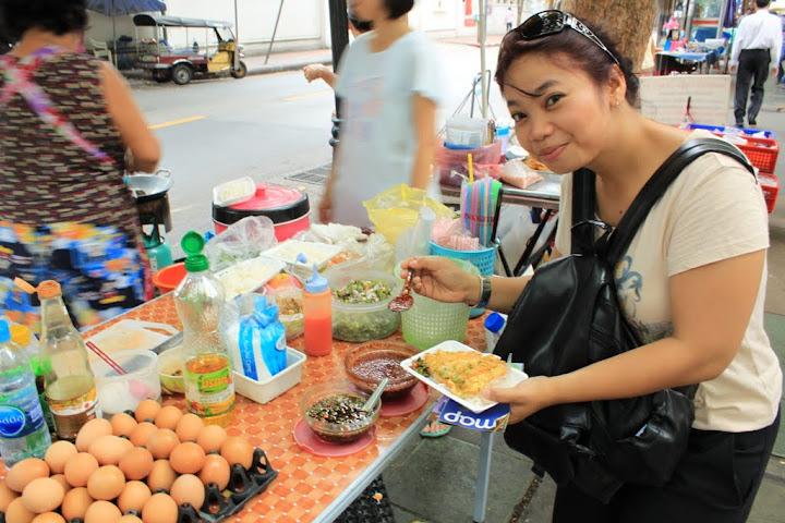 Makan ala Backpacker: Nasi pake Telor