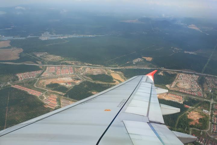 Aerial View: Kebun Kelapa Sawit