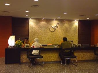 Receptionist kt Felda Residence