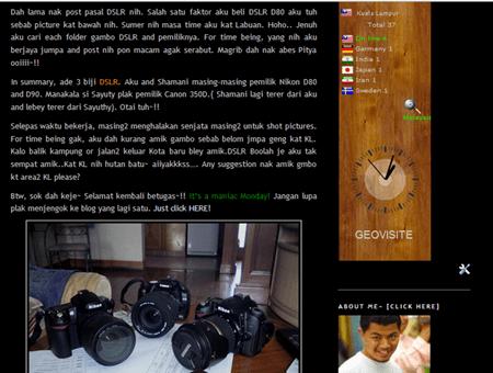 visitor blog~