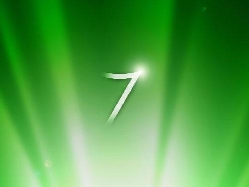Green 3d Windows 7 Desktop Wallpaper