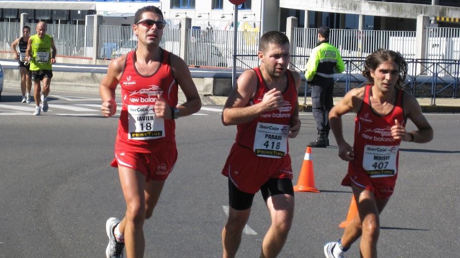 media maratón de vigo javier coidador