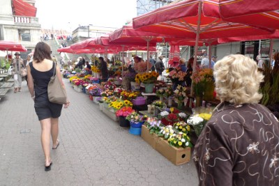 Flower markets!