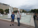 Liam and Gary in Nice