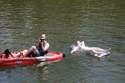 Kayak stalkers