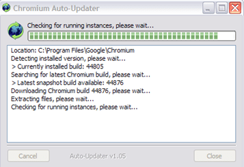 chrome auto update