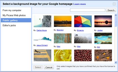 google background