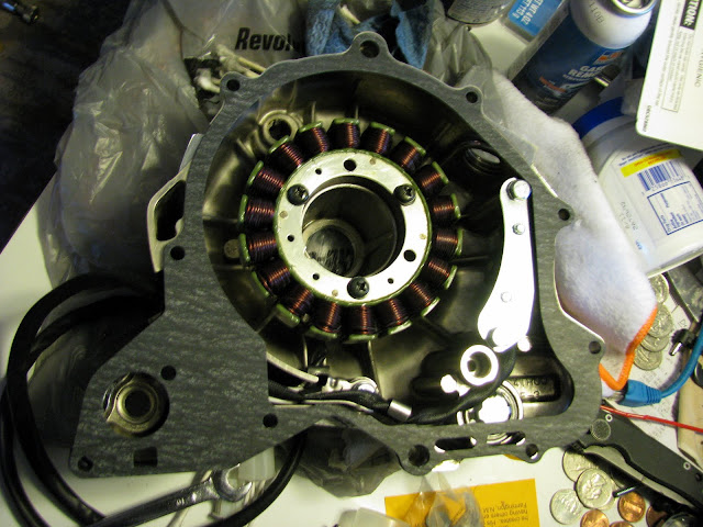 V Star 650 pickup coil and stator replacement   Zia Rider Blog