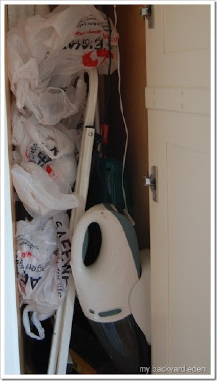 Messy Closet.